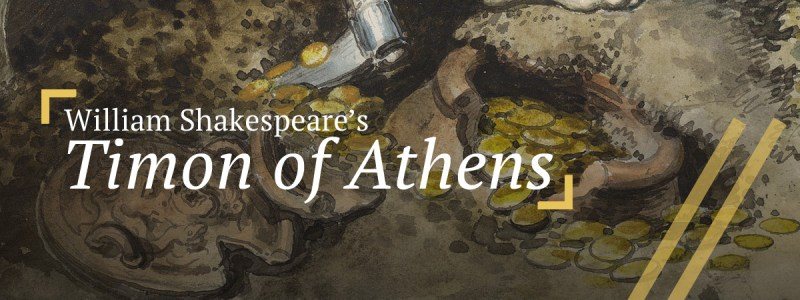 Timon of Athens: Detail of Timon's buried treasure