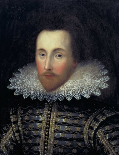 Janssen Portrait of Shakespeare