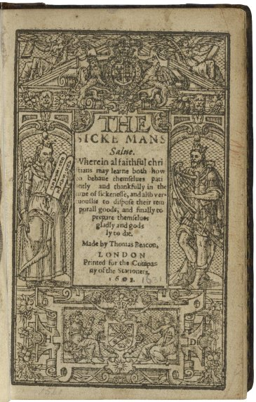 English guidebook from the Ars Moriendi tradition