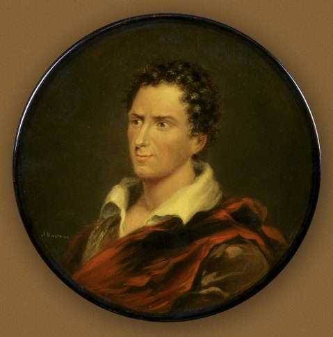 Snuffbox with portrait of Edmund Kean