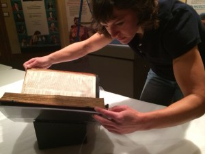 Installing the First Folio in Nebraska.