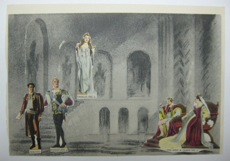 Assembled scene from Hamlet