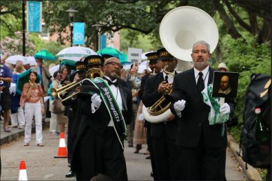 New Orleans Jazz Funeral as part of the First Folio tour