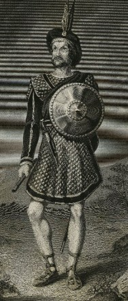 Sherratt after Tracey. Mr. Macready as Macbeth. Engraving, 19th century. Folger Shakespeare Library.