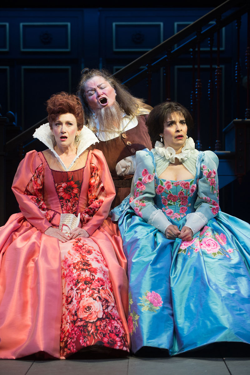 Falstaff in The Merry Wives of Windsor