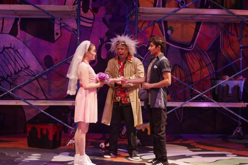 "Romeo and Juliet are married in the Q Brothers' ""I Heart Juliet"""