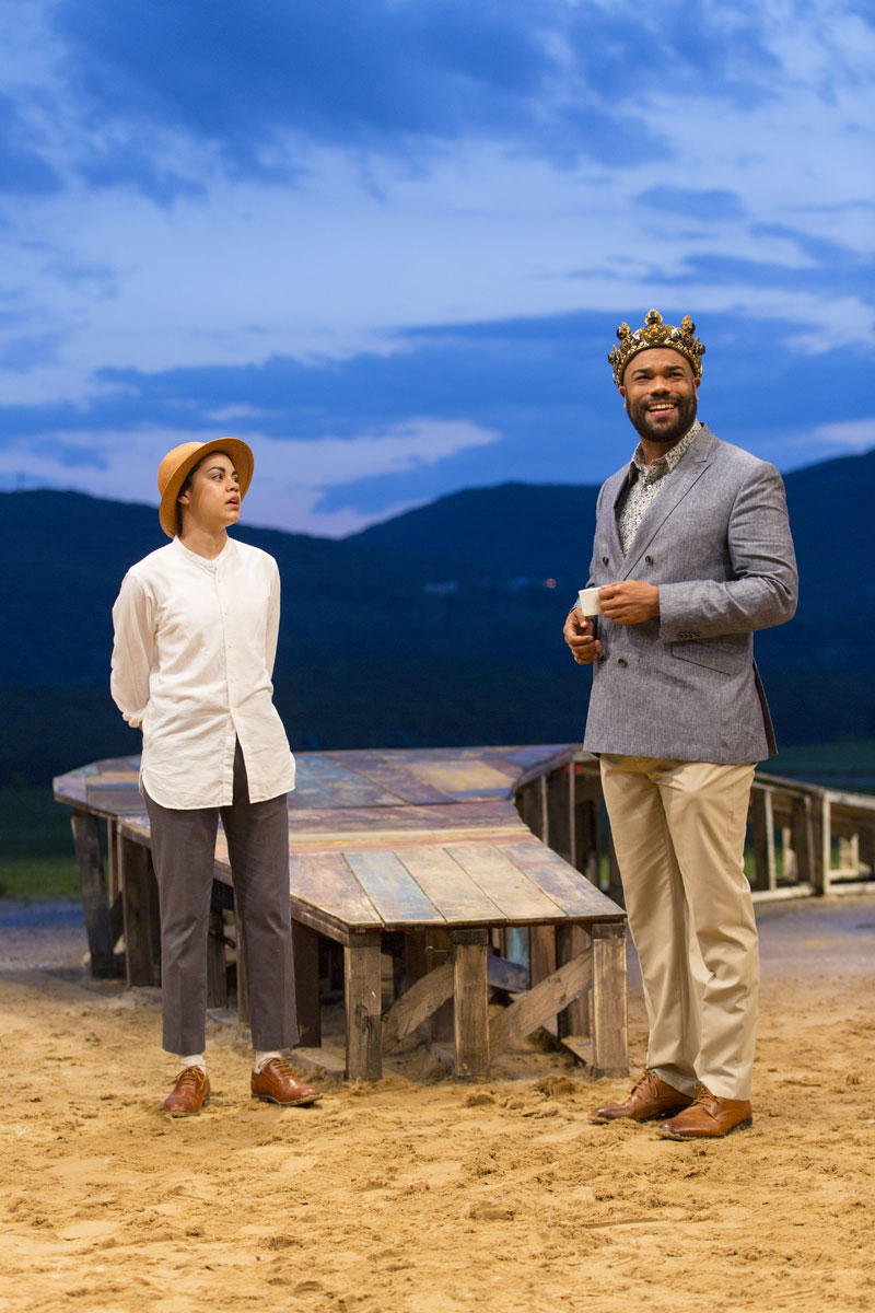 Twelfth Night at Hudson Valley Shakespeare Festival