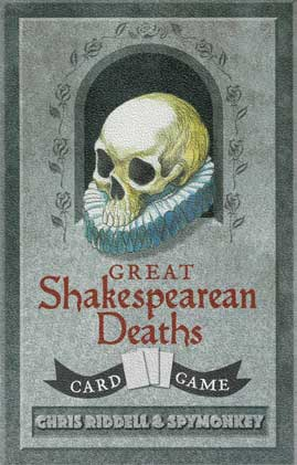 This card game is one of our five Christmas gift ideas for Shakespeare fans.