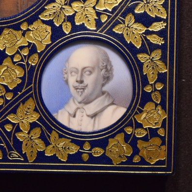 Miss C.B. Currie. Miniature, Cosway binding, 1928. James Boaden, An Inquiry into the Authenticity of Various Pictures. 1824. Folger Shakespeare Library.