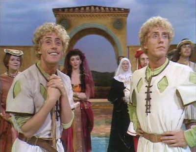 BBC. The Comedy of Errors, 1983. The BBC Television Shakespeare. Roger Daltrey as the Dromios.