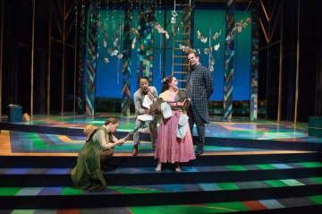 """As You Like It,"" Oregon Shakespeare Festival. Photo: Jenny Graham."