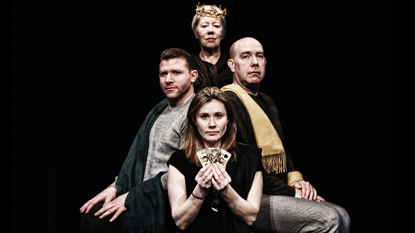 """""""King Lear,"""" by Shakespeare at Notre Dame and Actors from the London Stage. Photo: Jason Comerford."""