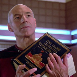 Patrick Stewart in Star Trek