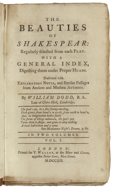 Book containing a speech by Lady Percy