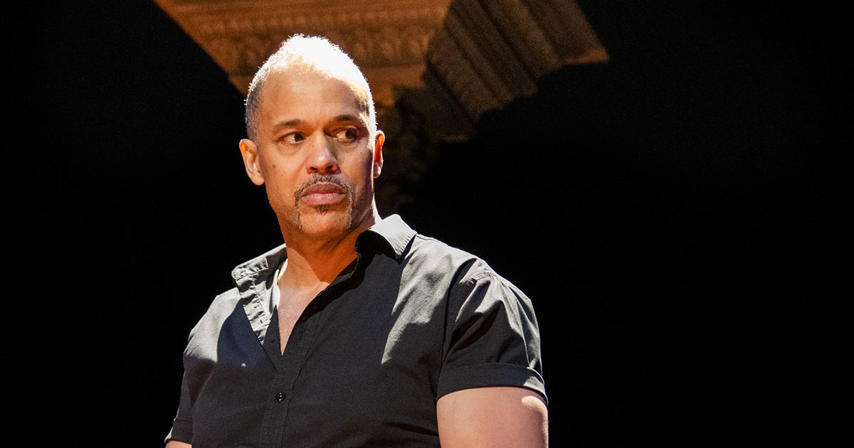 American Moor actor and playwright Keith Hamilton Cobb