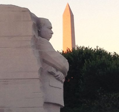 Martin Luther King Jr monument in DC