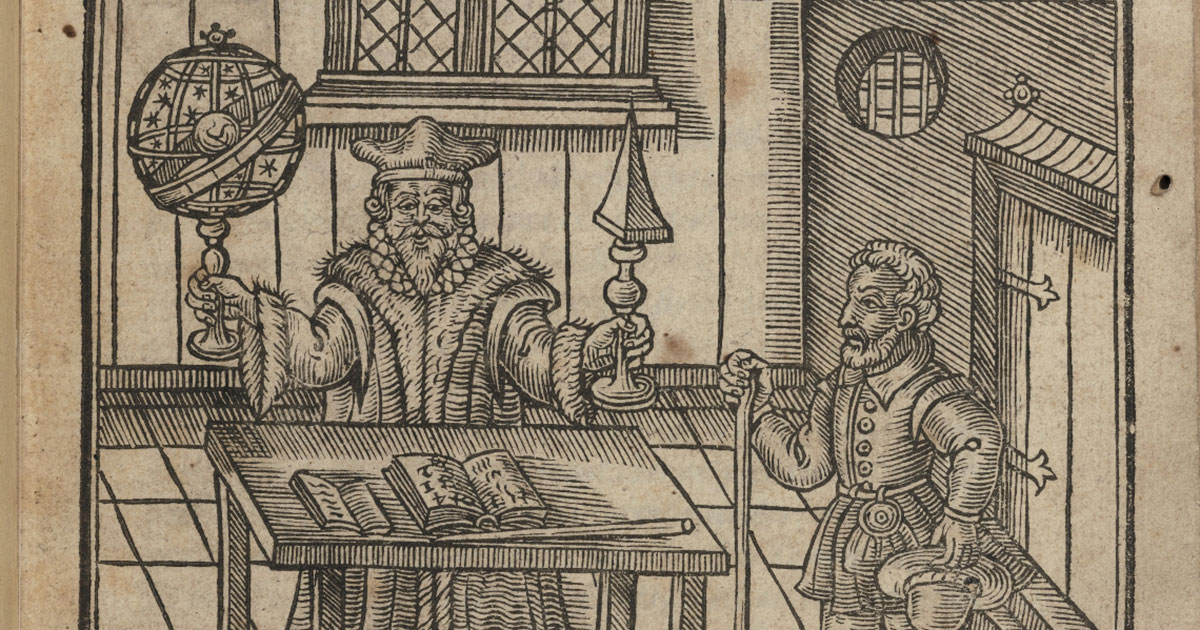 An early modern astrologer at work