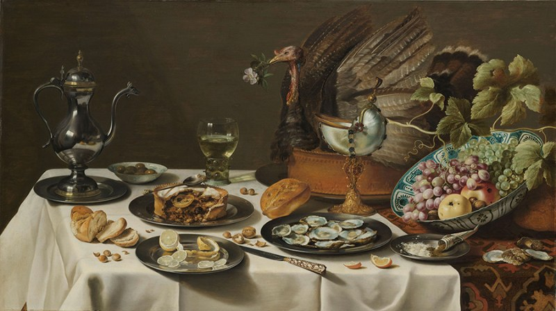 Still Life with a Turkey Pie