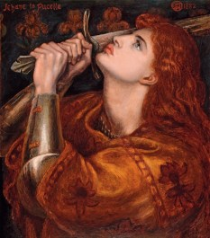 Joan of Arc, by Dante Gabriel Rossetti