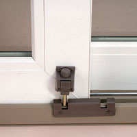 Security Foot Lock Sliding Door