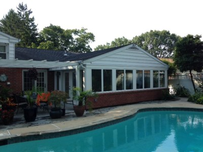 Shakespeare Home Improvement Co. Patio Enclosure with Pool Project