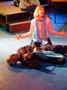 Juliet mourns Romeo
