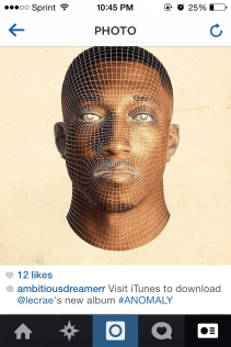 Instagram promotion for Lecrae