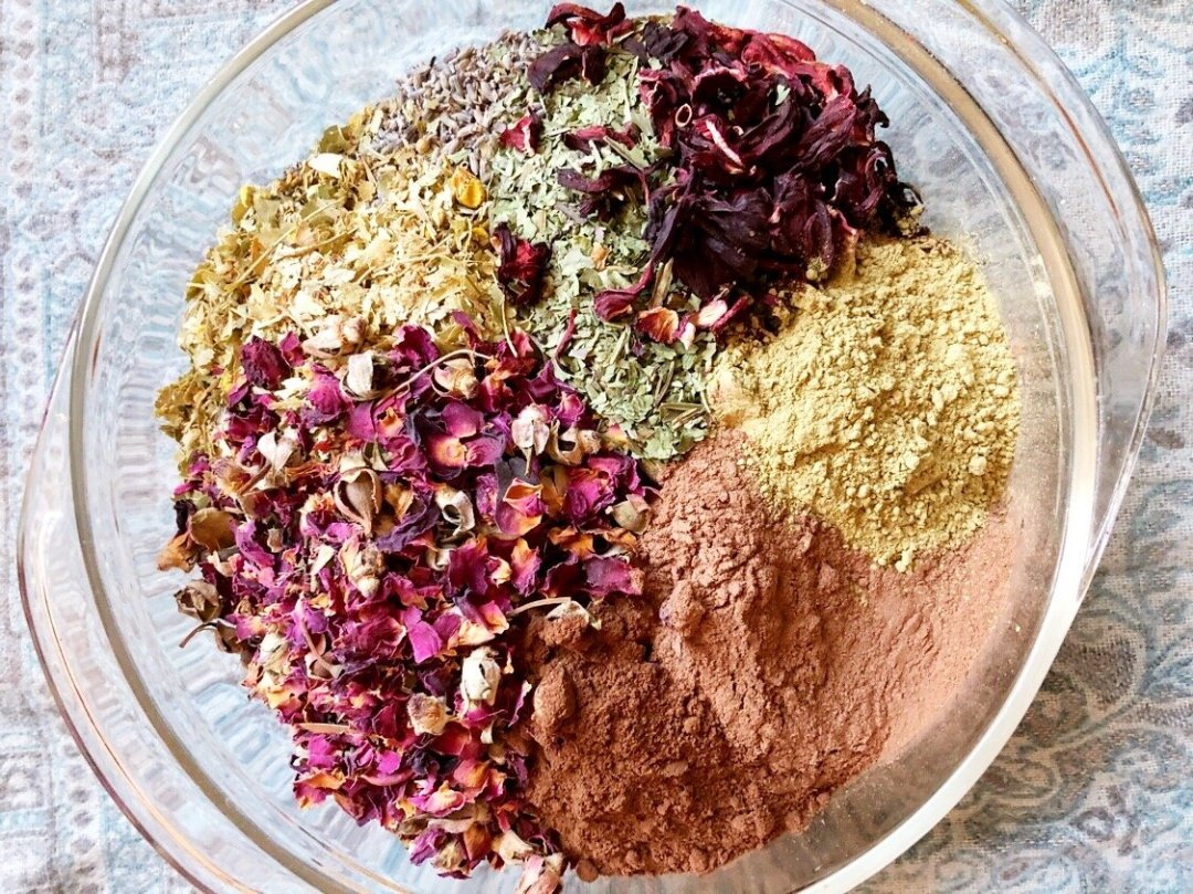 herbal postpartum bath