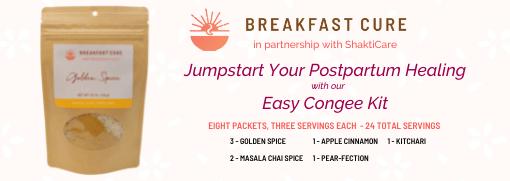 postpartum rice congee kit
