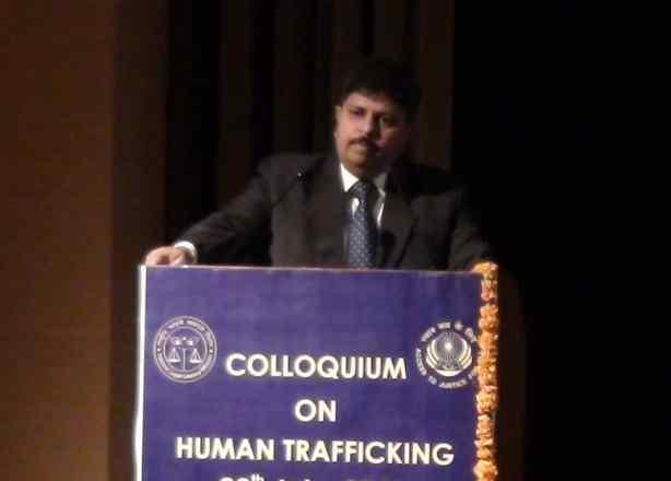 MR RAVI KANT PRESIDENT SHAKTI VAHINI , ADVOCATE SUPREME COURT OF INDIA  SPEAKING AT THE JUDICIAL COLLOQUIUM AT CHANDIGARH