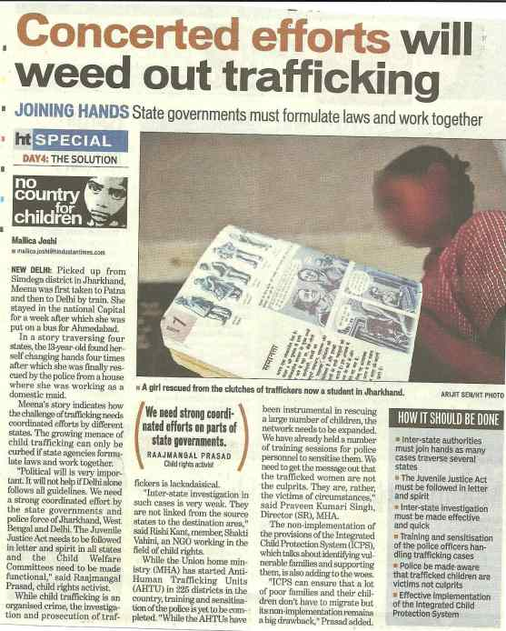 Concerted efforts will weed out trafficking