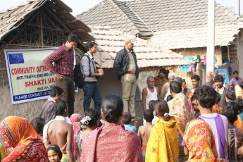 CAMPAIGN IN HIGH SOURCE AREA OF TRAFFICKING -MALDA INDO BANGLA BORDER