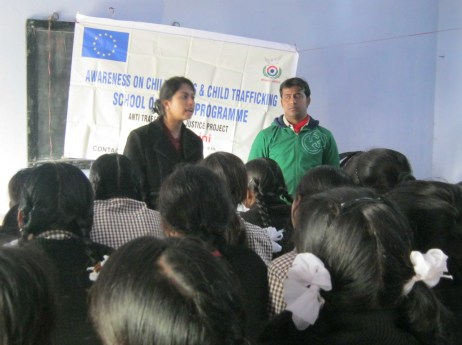 Preventing Human Trafficking-Reaching Out to Schools