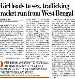 Organised Crime- Human Trafficking
