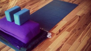Yoga Mat with props-1 - Version 2