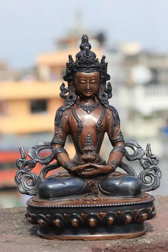 Aparmita Buddha Statue Antique