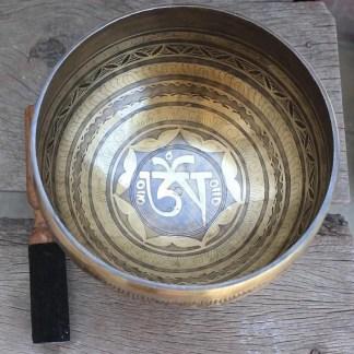 Om Tibetan Bowl