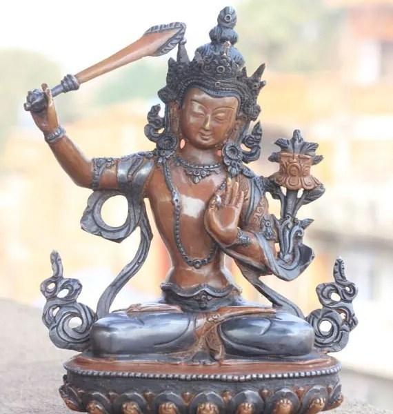 Manjushri Buddha Statue