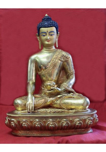 gold buddha statue for sale shakyamuni