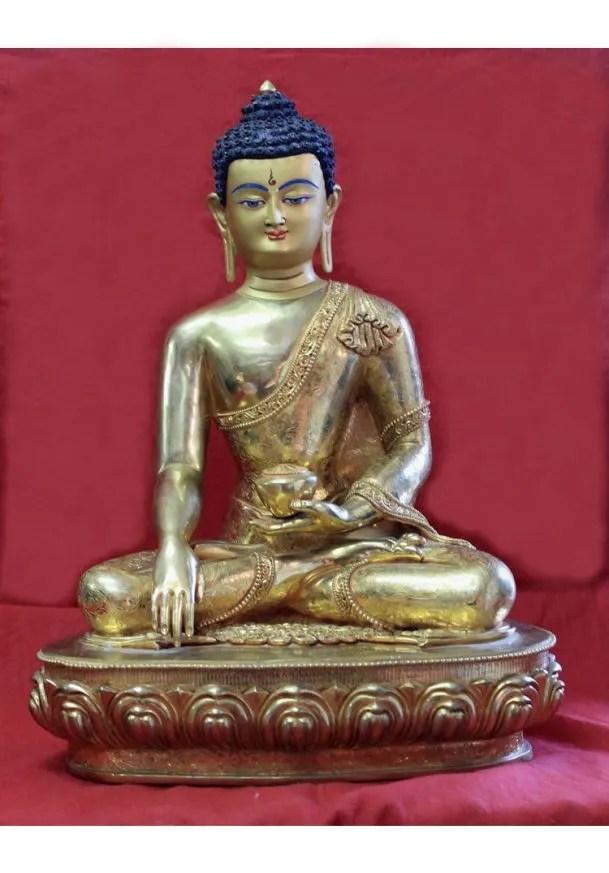 gold buddha statue for sale shakyamuni home zen meditation altar buy