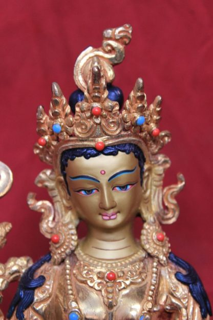 21 taras goddess Tara face