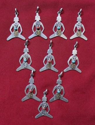 meditating buddha pendants
