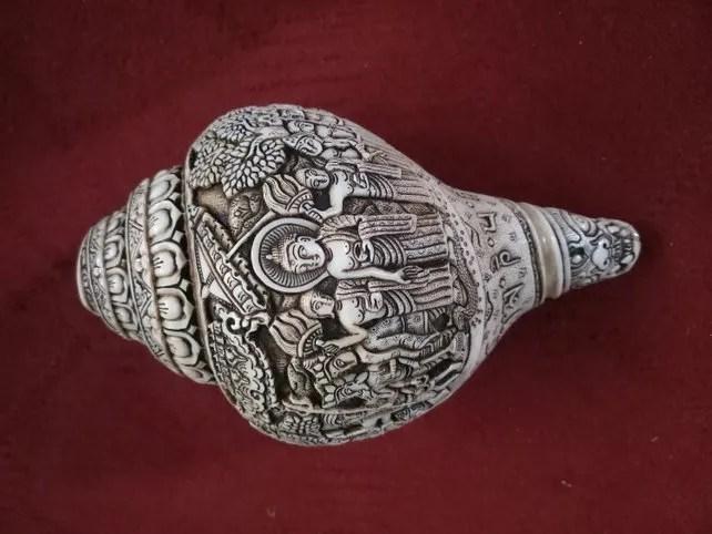 Buddha Journey Conch Shell