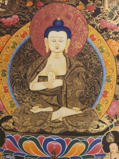 vairocana thangka Tibetan