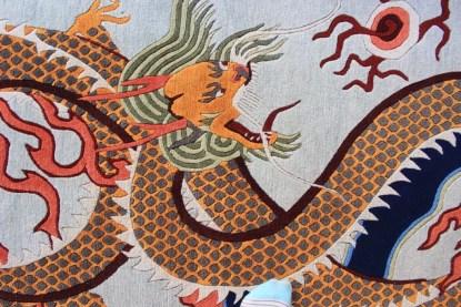 Tibetan Dragon Rug Carpet