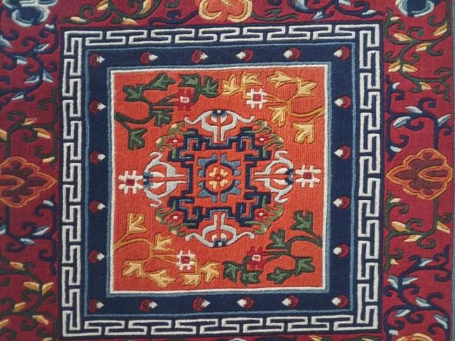 Tibetan Mandala rug square