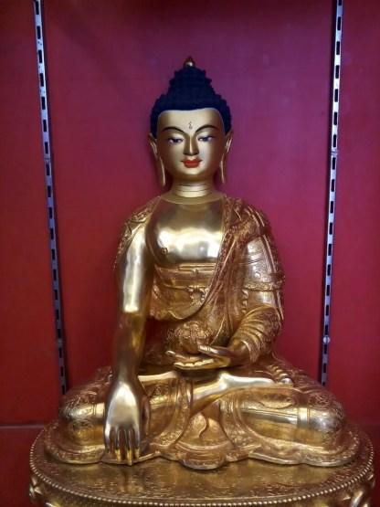 Shakyamuni Buddha Full gold 3