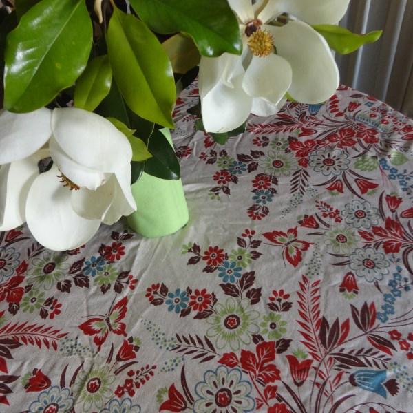 My Pink Tablecloth Oopsie