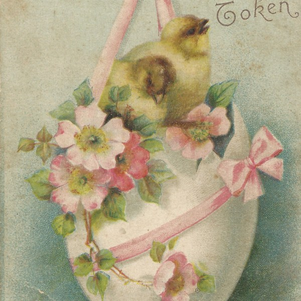 My Vintage Easter Postcards