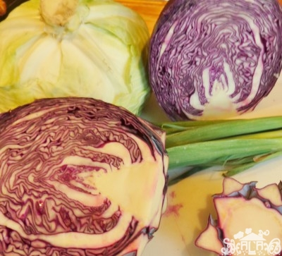 cabbage heads for coleslaw on Shalavee.com